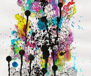art, colorful, and cool image