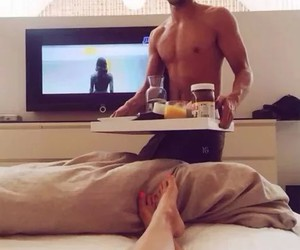 breakfast, love, and girl image