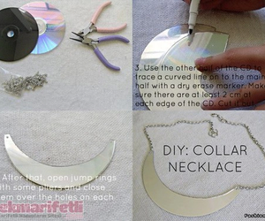 cd, diy, and necklace image