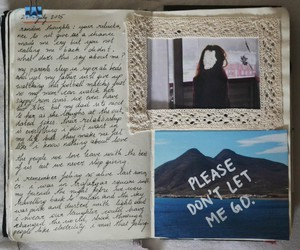 handwritting and notebook image