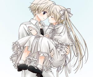 anime, anime girl, and brother image