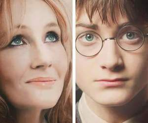 harry potter, jk rowling, and daniel radcliffe image