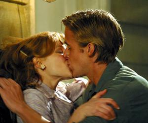kiss, the notebook, and couple image