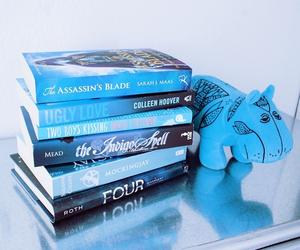 blue, book, and mockingjay image