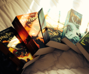 books, harry potter, and love image