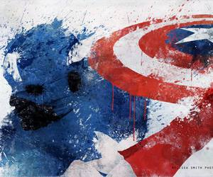 captain america, Avengers, and Marvel image