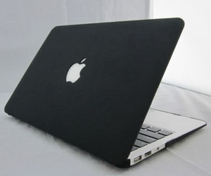 black and apple image