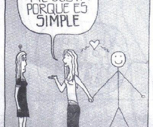 love and simple image