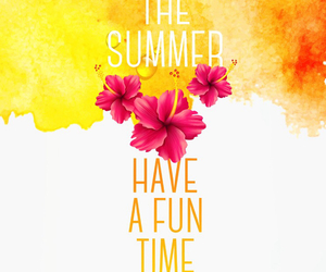 flowers, summer, and enjoy image