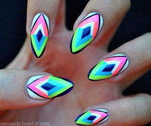nails and colorful image