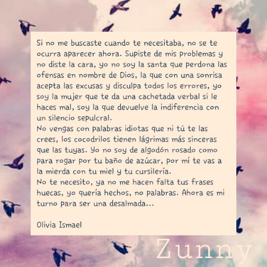 No Vuelvas A Mi Discovered By Zunny On We Heart It