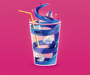 background, cup, and glass image