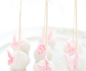 butterfly, cake pops, and food image