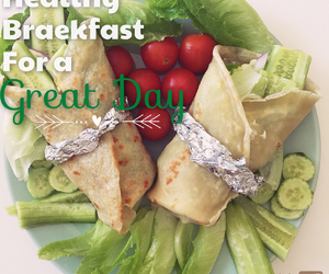 breakfast, fitness, and morning image