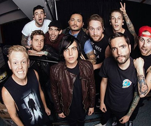 a day to remember, sleeping with sirens, and sws image