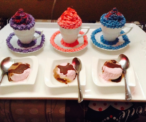 cupcakes, fancy, and ice cream image