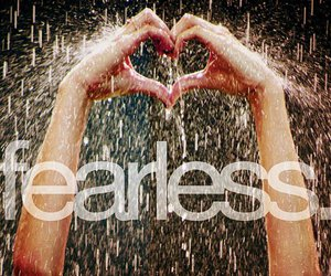 fearless, Taylor Swift, and rain image