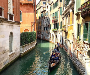 italy, venice, and boat image