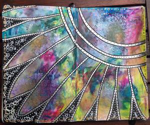 art journal, background, and color image