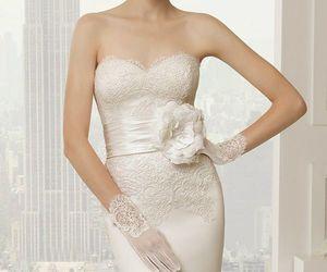 wedding, fashion, and wedding dress image