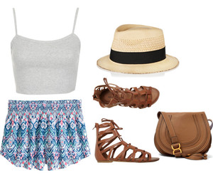 beach, outfit, and summer image