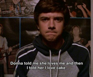 that 70s show, cake, and funny image