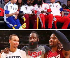 Basketball, NBA, and james harden image