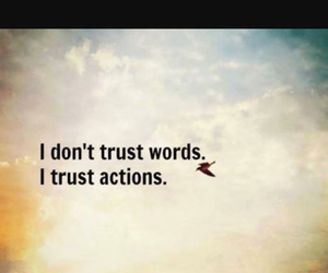 quote, trust, and Action image
