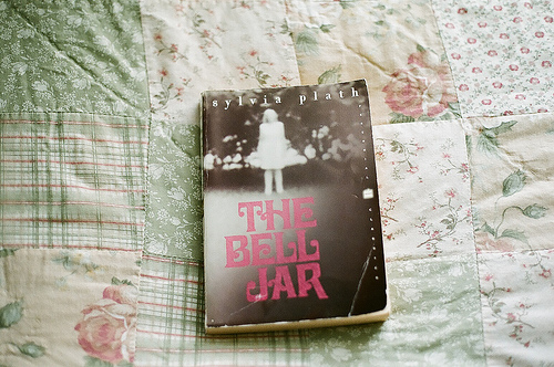 book, sylvia plath, and the bell jar image