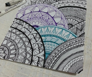 color, design, and doodles image