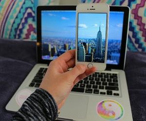 iphone, tumblr, and macbook image