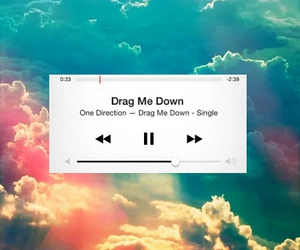 1d, drag me down, and one direction image