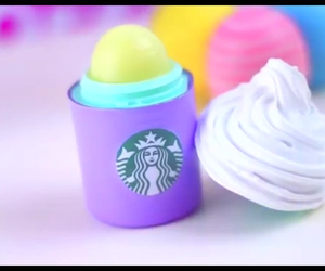 starbucks, eos, and cute image