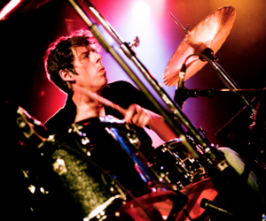 music, patrick carney, and drummer image