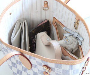 bag, girl, and style image