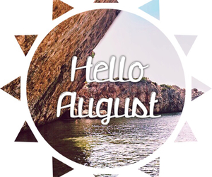 August, beach, and dreamy image