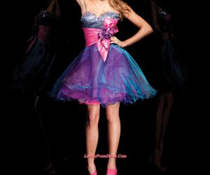 purple, pink, and Prom image