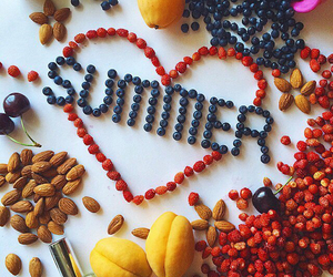 summer, food, and fruit image