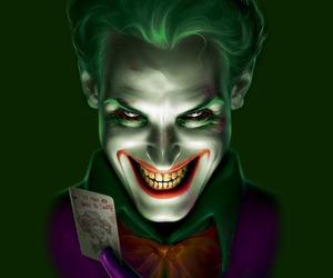 evil, joker, and smile image