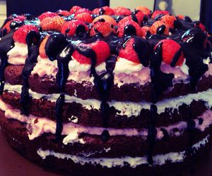 cake, desert, and love it image
