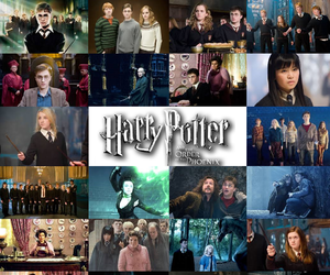 characters, harry potter, and magic image