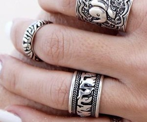 rings, silver, and accessories image