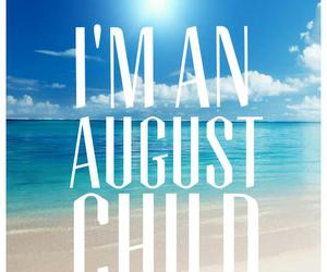 August, beach, and happy image