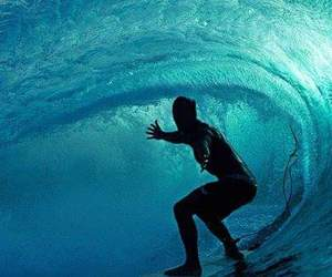surf and wave image