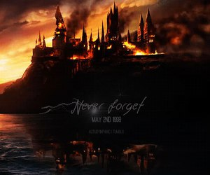 harry potter, hogwarts, and may image