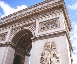 arc de triomphe, beautiful, and famous image