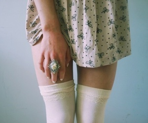 girl, dress, and ring image