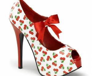 cherry, red, and shoes image