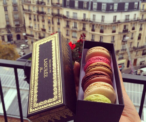 food, delicious, and laduree image