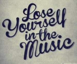 music, eminem, and lose yourself image